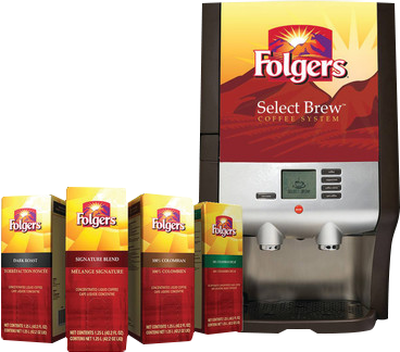 Folgers coffee machine