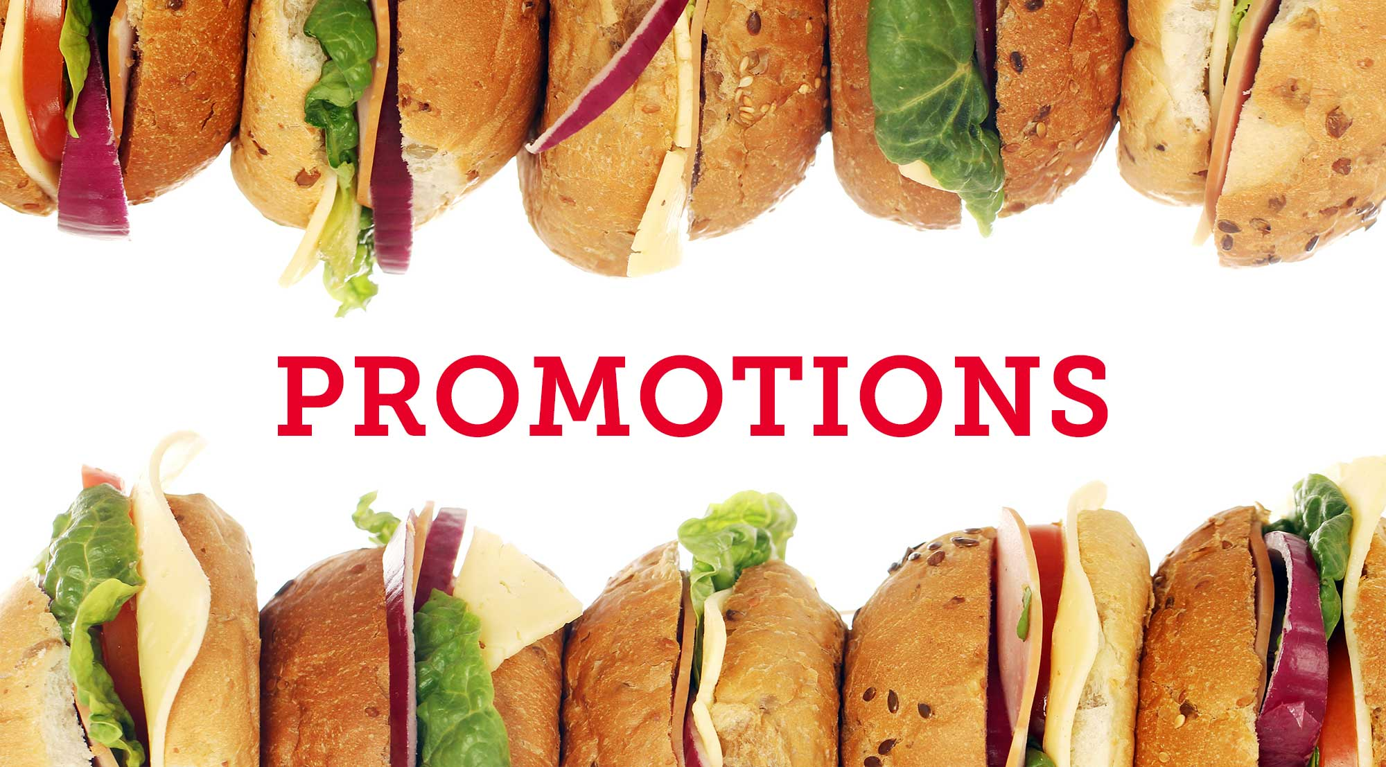 Promotions header