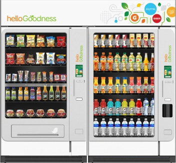 Hello Goodness healthy vending machine