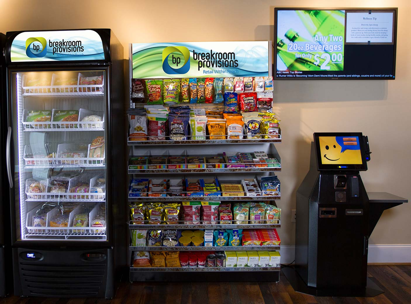 Self-serve micro market in Rochester, Buffalo and New York