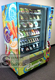 Vending machine from Wegman